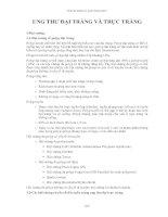Tài liệu Ung thư đại tràng và trực tràng pptx