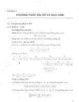 Tài liệu Các phương pháp chứng minh Bất đẳng thức pdf