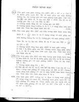 Tài liệu 98 bài toán hình học không gian hay doc