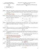 Tài liệu Đề thi thử đại học môn Vật lý năm 2007-2008 ppt