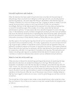 Tài liệu Firewall Log Review and Analysis pptx