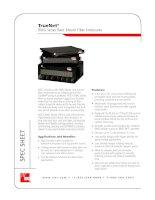 Tài liệu ADC KRONE - Datasheet - ODF - RMG Series Rack Mount Fiber Enclosures docx