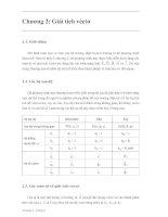 Tài liệu Lý thuyết trường điên tử P2 doc