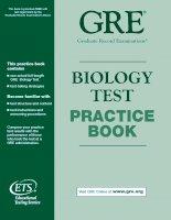 Tài liệu GRE_ BIOLOGY TEST doc