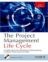 Tài liệu The Project Management Life Cycle Part 1 pptx