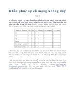 Tài liệu Khắc phục sự cố cho mạng không dây part 2 pdf