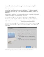 Tài liệu Hướng dẫn cài đặt Ubuntu 7.10 trong Parallels Desktop cho máy OS X doc