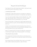 Tài liệu Bí quyết ôn thi môn Văn hiệu quả pdf