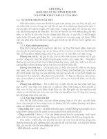 Tài liệu Bài giang cơ học đất_ Chương 1 ppt