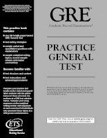 Tài liệu ETS-GRE Practice General Test 2002 docx