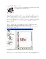 Tài liệu Cách cất giấu ổ cứng an toàn pptx