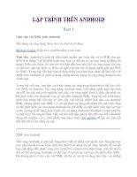 Tài liệu Lập trình trên Android part 1 pdf