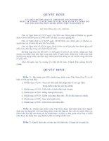 Tài liệu Quyết định số 219/2000/QĐ-BTC về ban hành và công bố 6 chuẩn mực kiểm toán Việt Nam (đợt 2) pptx
