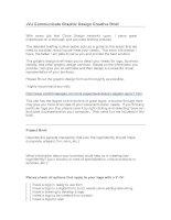 Tài liệu JVJ Communicate Graphic Design Creative Brief pdf