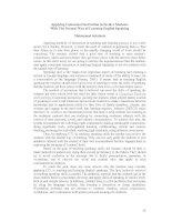Tài liệu Teaching and learning english part 5 pdf