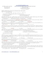 Đề thi thử đại học môn hóa chuyên nguyễn huệ lần 4 2013 có lời giải