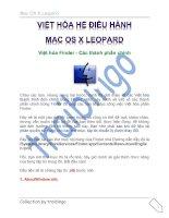 Tài liệu Việt hóa hệ điều hành Mac part 4 pdf