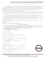 Tài liệu Những sai lầm trong phương pháp quy đổi trong hóa học pptx
