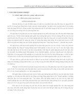 Tài liệu PHÁP LUẬT VỀ PHÁ SẢN VÀ GIẢI THỂ DOANH NGHIỆP pptx