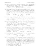 Tài liệu Đáp án + Câu hỏi trắc nghiệm hóa vô cơ số 3 ppt