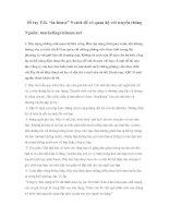 """Tài liệu Sổ tay P.R. """"in-house"""" 9 cách để có quan hệ với truyền thông ppt"""