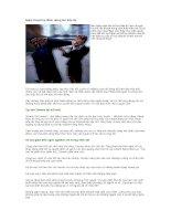 Tài liệu Nghệ thuật tìm điểm dừng khi tiếp thị pdf