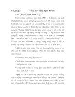 Tài liệu ĐỒ ÁN THIẾT KẾ CÔNG NGHỆ CHUYỂN MẠCH NHÃN ĐA GIAO THỨC, chương 3 pptx