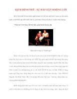 Tài liệu KỊCH HÌNH THỂ - SỰ HẤP DẪN KHÔNG LỜI pdf