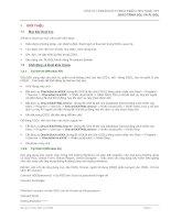 Tài liệu Giáo trình SQL và PL SQL part 1 pptx