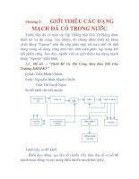 Tài liệu Thiết kế và thi côn hệ thống báo giờ tự động ứng dụng CPU Z80, chương 2 pdf