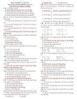 847 câu trắc nghiệm lý thuyết vật lý 12