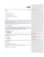 Tài liệu Lập trình với ngôn ngữ C phần 9 pdf