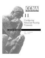 Tài liệu Configuring Advanced Routing Protocols doc
