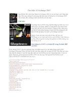 Tài liệu Tìm hiểu về Exchange 2003 ppt