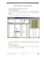 Tài liệu Phần 5: Mô phỏng vi điều khiển ppt