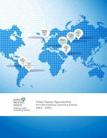 GLOBAL SUPPLY OPPORTUNITIES FOR INTERNATIONAL SPORTING EVENTS 2012-2022 doc