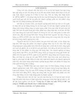 Kế toán nguyên vật liệu Công ty TNHH NN MTV Cơ khí Quang Trung