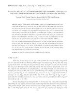 ĐÁNH GIÁ KHẢ NĂNG XÓI MÒN ĐẤT Ở HUYỆN ĐAKRÔNG, TỈNH QUẢNG TRỊ BẰNG MÔ HÌNH RMMF (REVISED MORGAN-MORGAN-FINNEY) pot