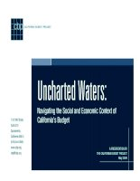 Uncharted Waters: Navigating the Social and Economic Context of California's Budget doc