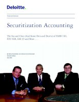 Securitization Accounting: The Ins and Outs (And Some Do's and Don'ts) of FASB 140, FIN 46R, IAS 39 and More . . . ppt