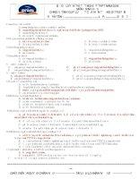 682 CAU HOI TRAC NGHIEM SINH HOC 12 CO