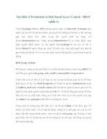 Tìm hiểu về Permission và Role Based Access Control – RBAC (phần 1) pdf
