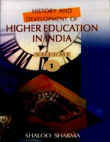 history and development of higher education in india 1 5 ppt