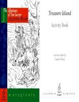 Treasure island activity book