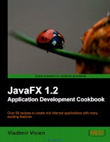 JavaFX 1.2 Application Development Cookbook doc