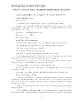 THUYẾT MINH HỒ SƠ PHÒNG CHÁY CHỮA CHÁY CHUNG CƯ GOLDEN PALACE