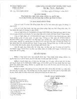 Quyết định ban hành quy định chức năng, nhiệm vụ, quyền hạn và cơ cấu tổ chức của sở giáo dục và đào tạo tỉnh Cà Mau ( số 4/2012/QĐ-UBND) pdf