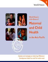World Vision's Little Book of Maternal and Child Health in the Asia Pacific docx