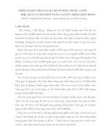 TIÊM VACXIN VIÊM GAN B CHO SƠ SINH TRƯỚC 24 GIỜ HIỆU QUẢ VÀ GIẢI PHÁP NÂNG CAO SỨC KHOẺ CỘNG ĐỒNG pdf