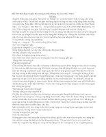 199 bài và đoạn văn hay lớp 9 (107)  -Nét đẹp chuyển thu trong bài thơ Sang thu của Hữu Thỉnh.